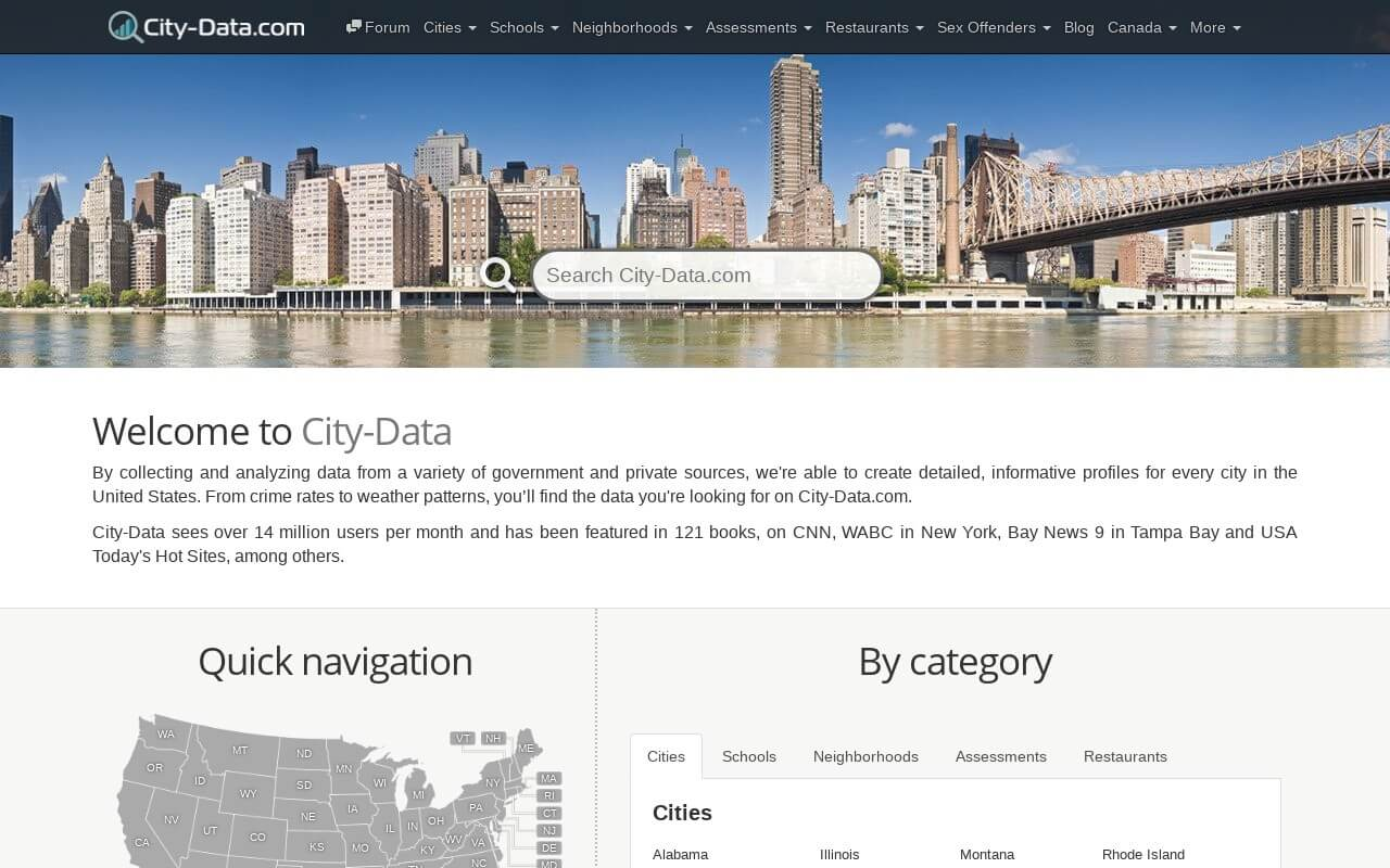 City-Data on ReadSomeReviews