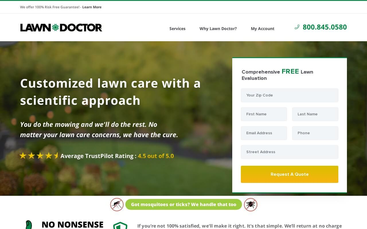LawnDoctor on ReadSomeReviews