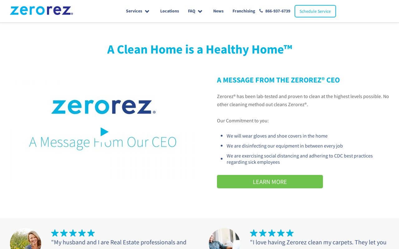 Zerorez on ReadSomeReviews