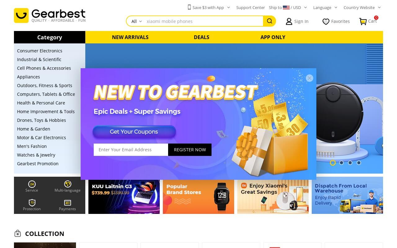 Gearbest on ReadSomeReviews
