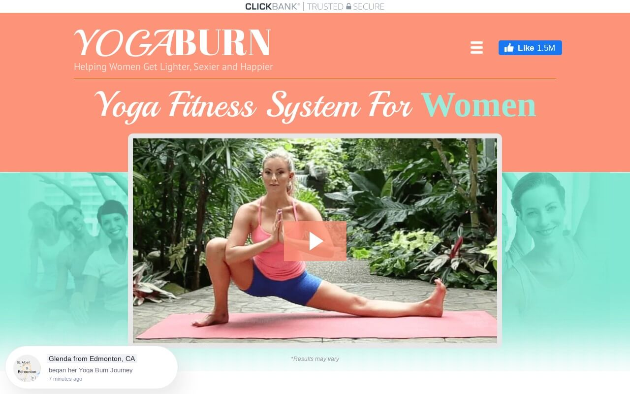 Yoga Burn on ReadSomeReviews