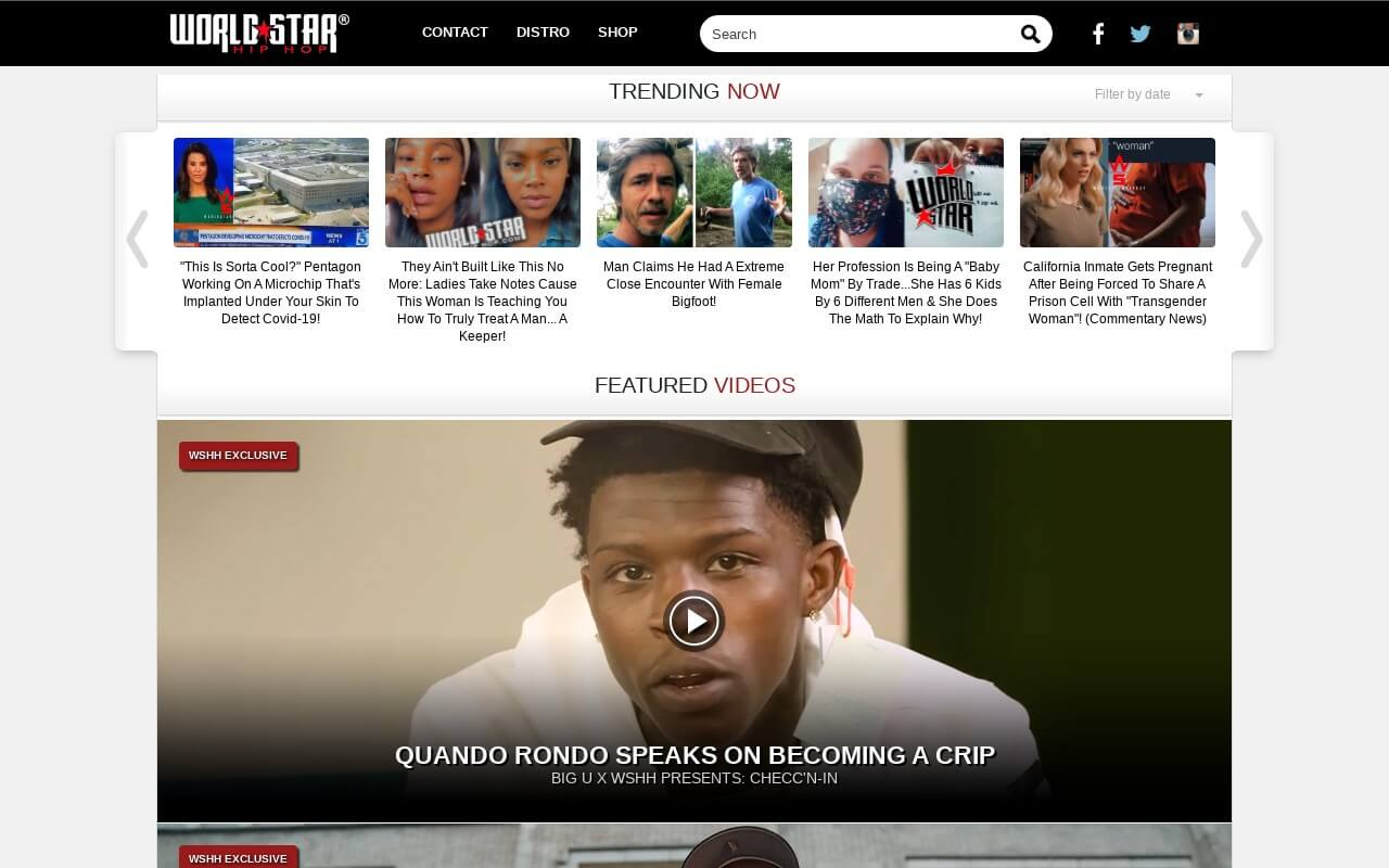 WorldStarHipHop on ReadSomeReviews