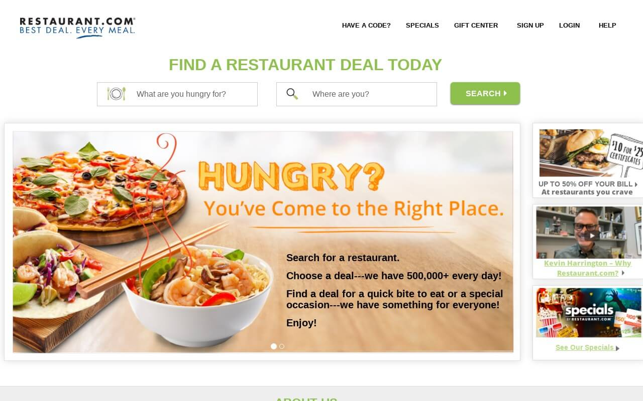 Restaurant on ReadSomeReviews