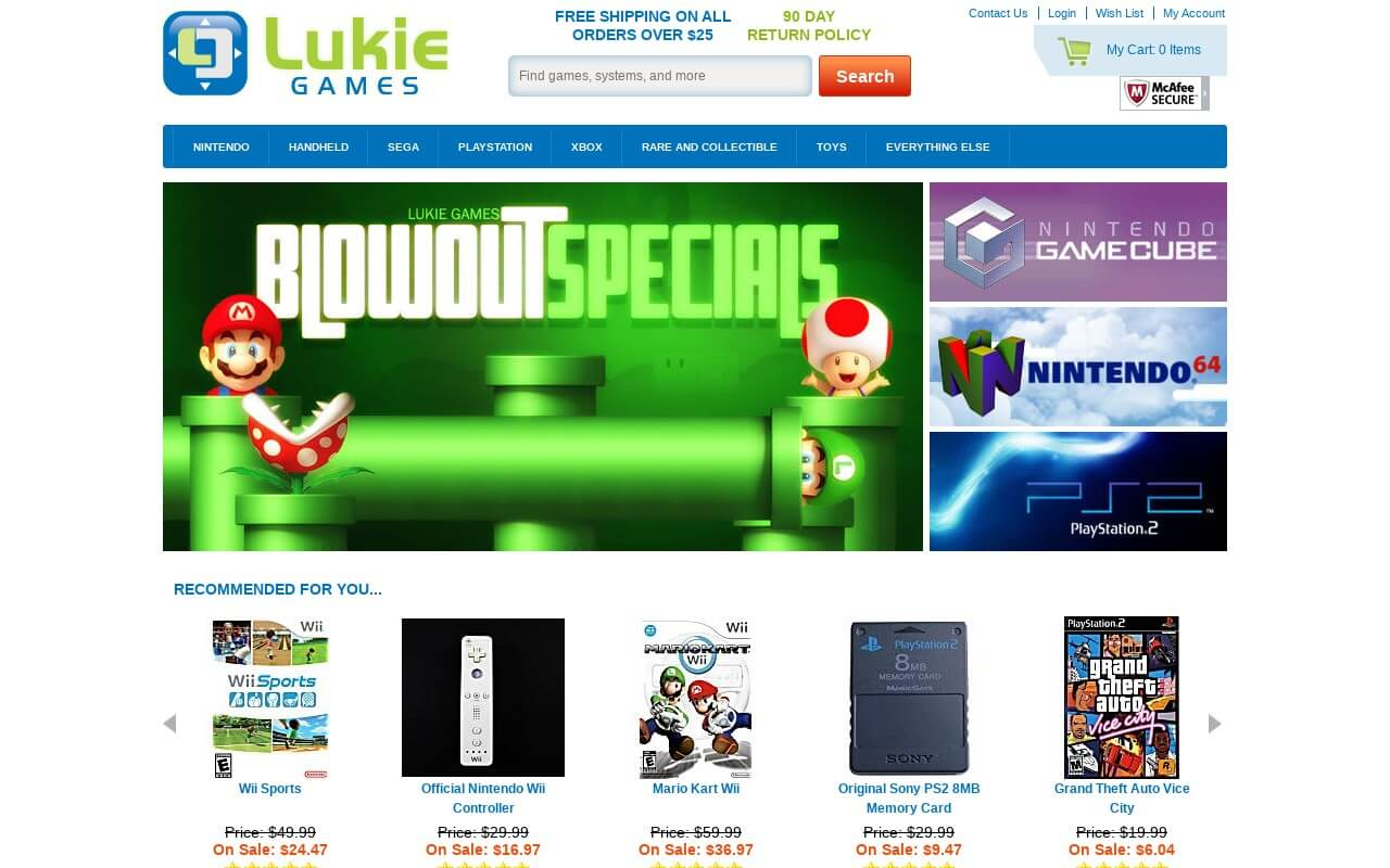 LukieGames on ReadSomeReviews