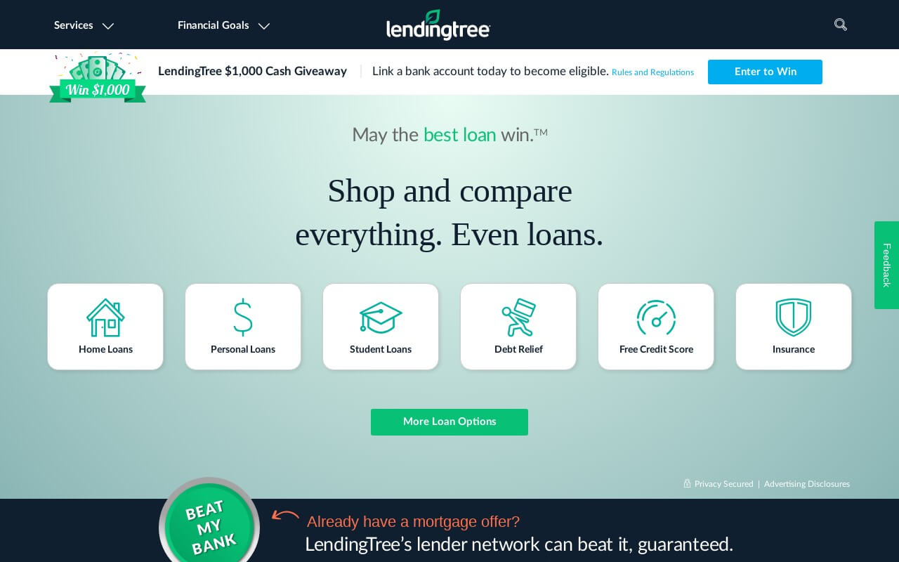 LendingTree on ReadSomeReviews