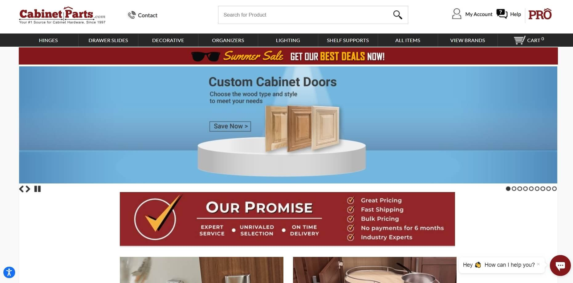 CabinetParts on ReadSomeReviews