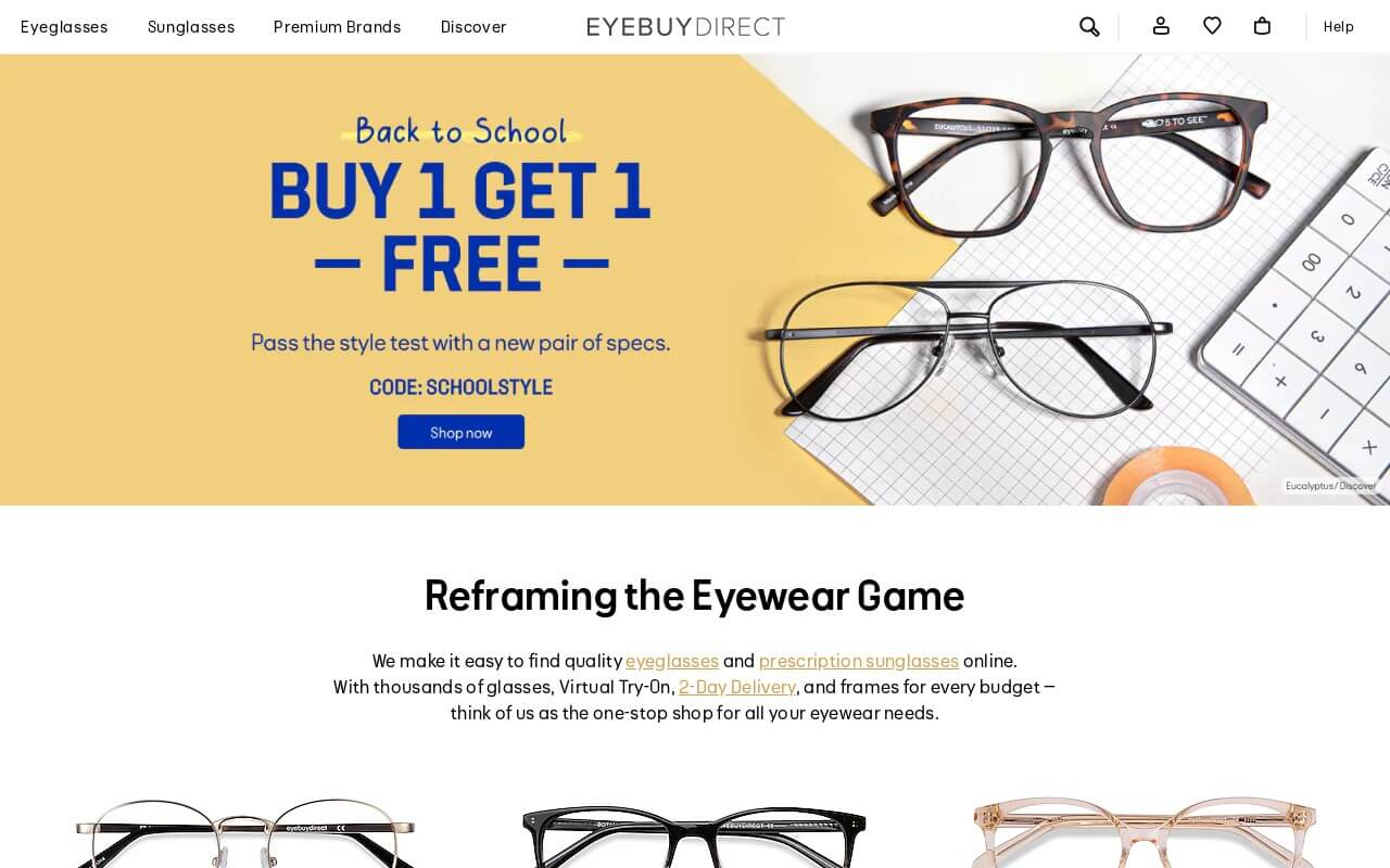 EyeBuyDirect on ReadSomeReviews