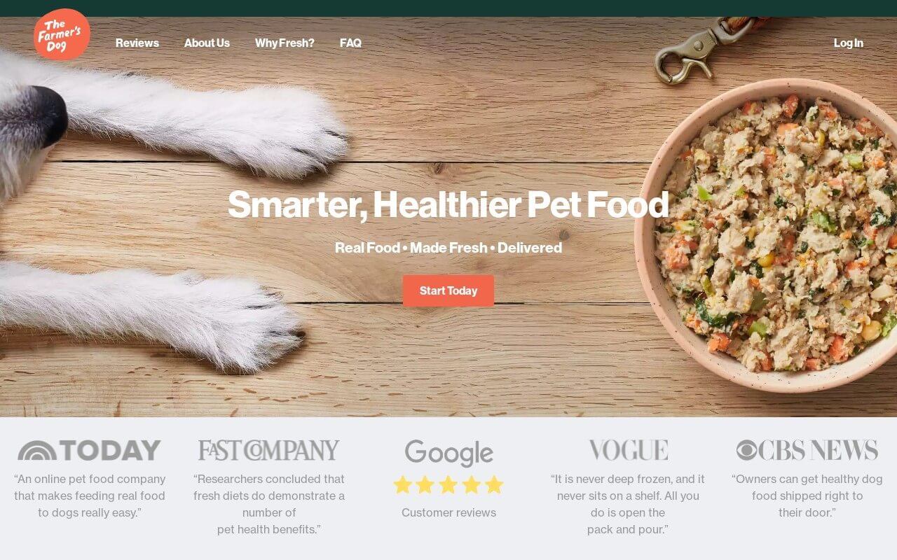 The Farmer's Dog on ReadSomeReviews