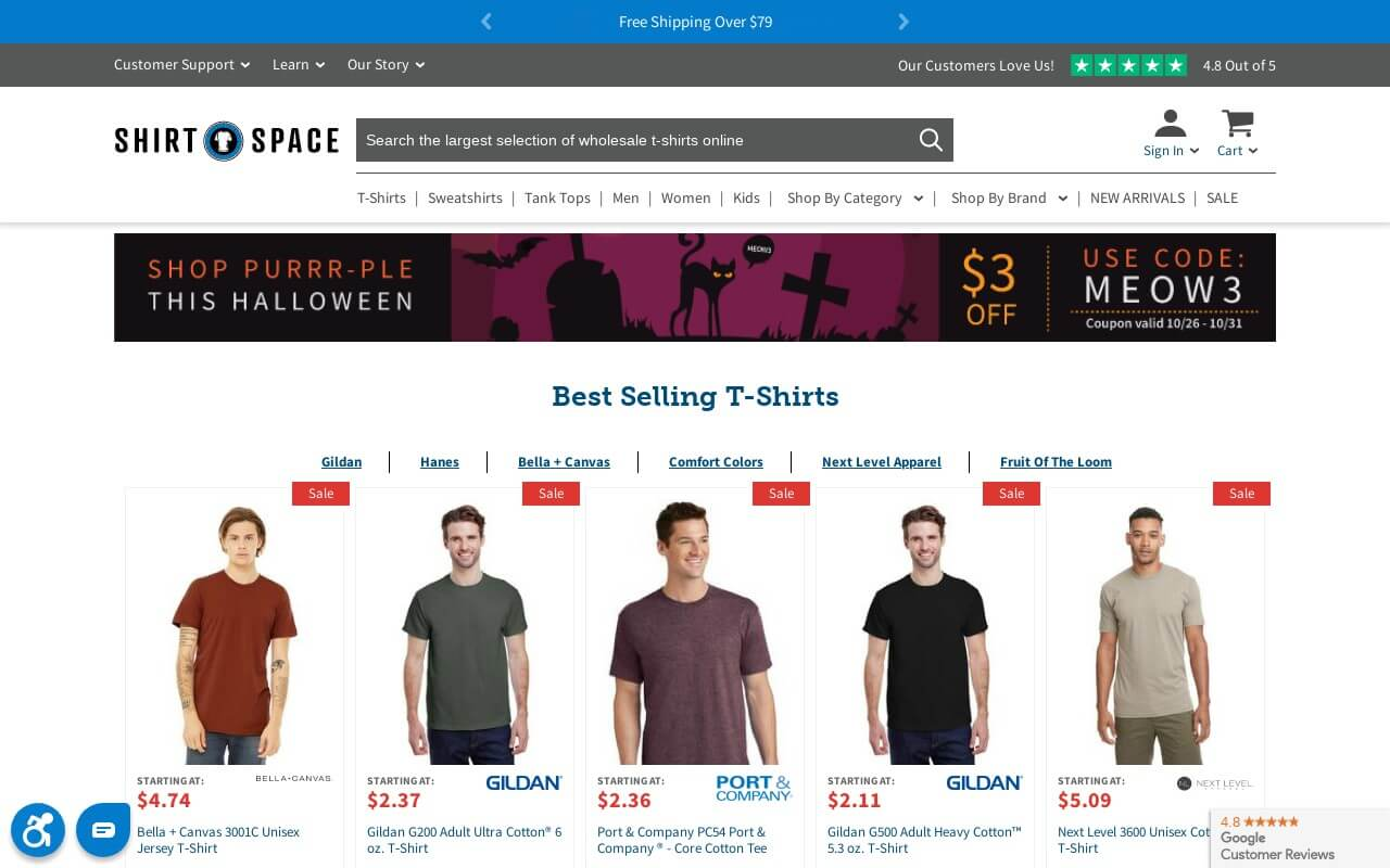 ShirtSpace on ReadSomeReviews