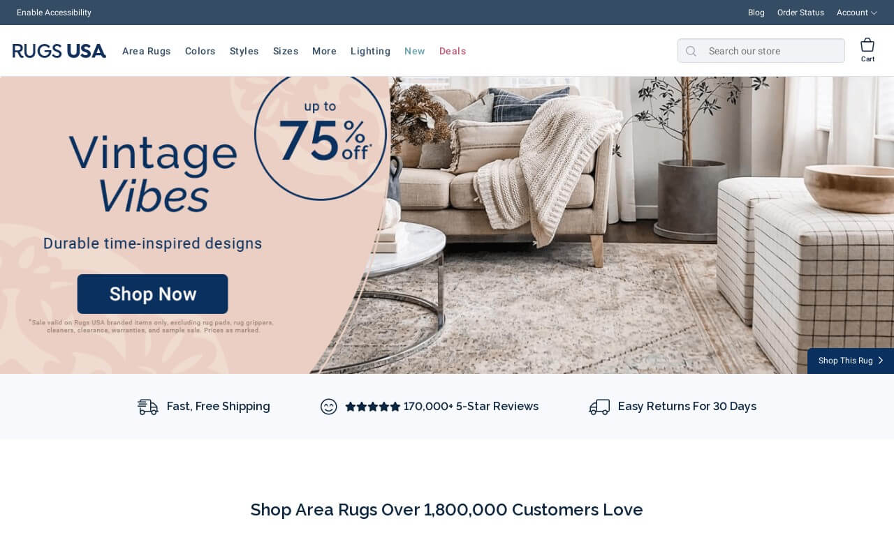 Rugs USA on ReadSomeReviews