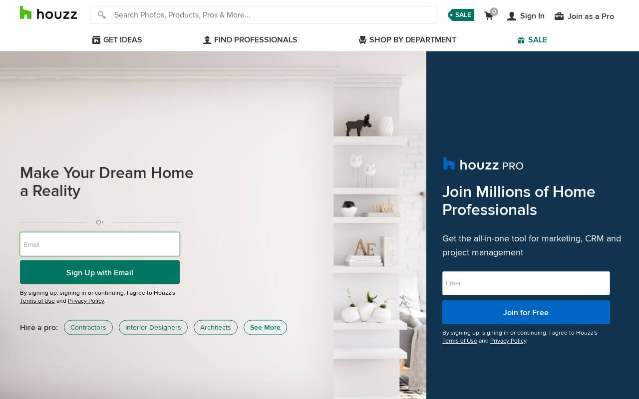Houzz on ReadSomeReviews