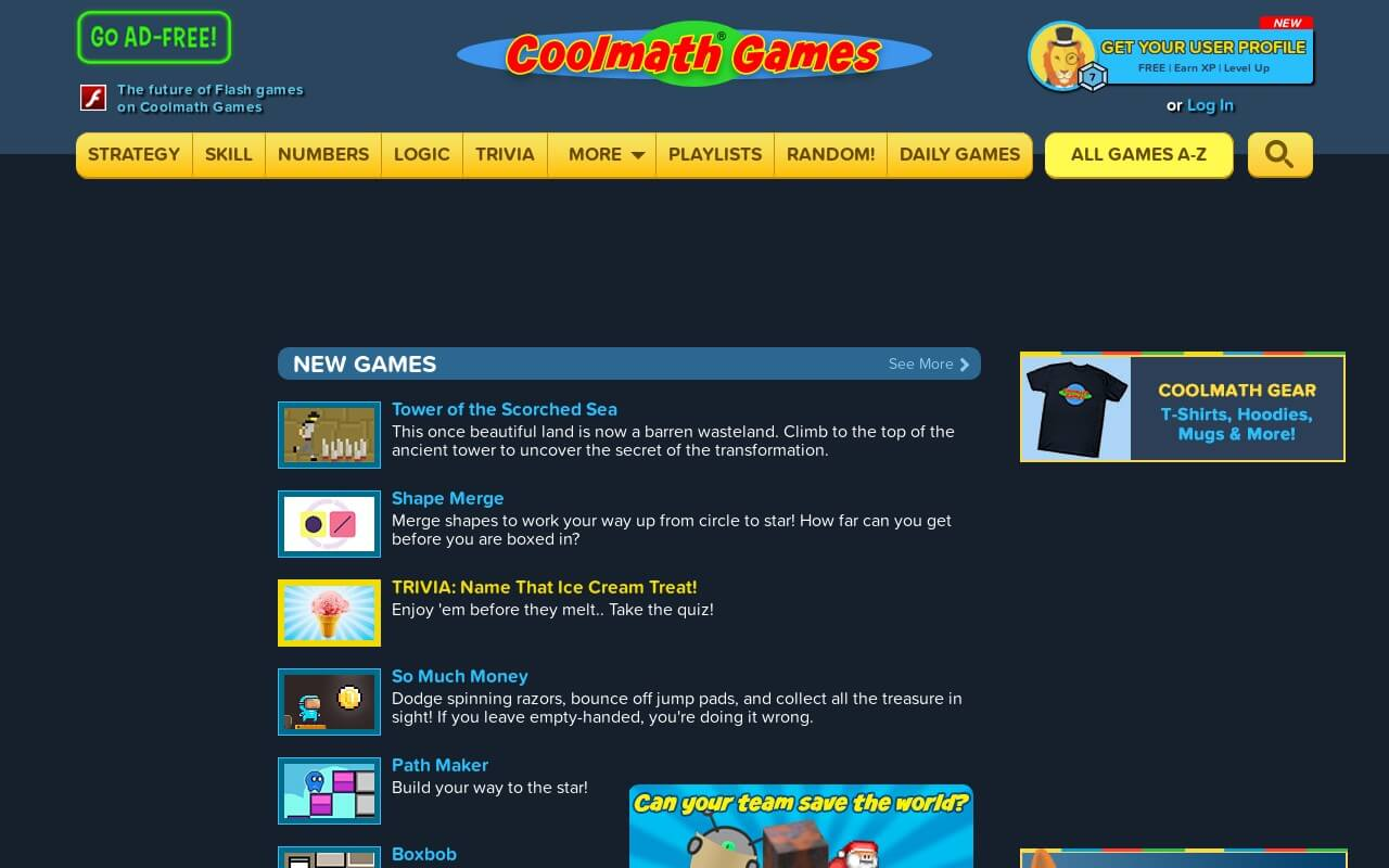 Cool Math Games on ReadSomeReviews