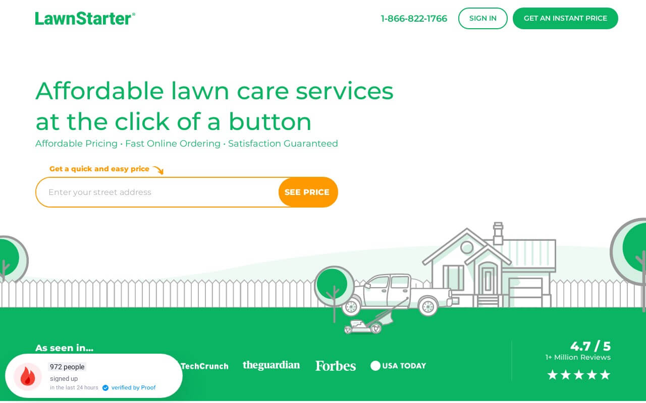 LawnStarter on ReadSomeReviews