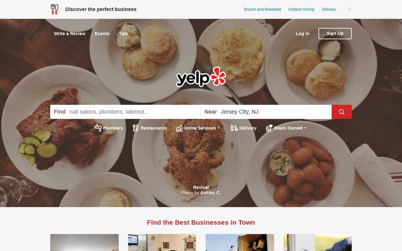 Yelp on ReadSomeReviews