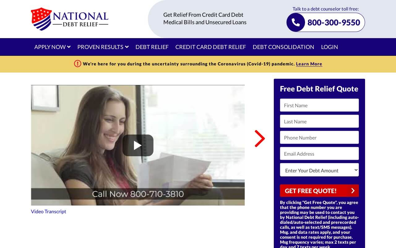 National Debt Relief on ReadSomeReviews