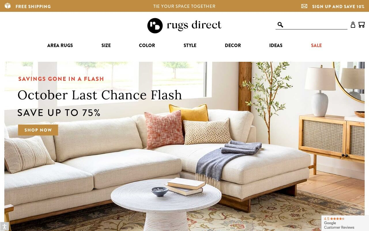 Rugs Direct on ReadSomeReviews