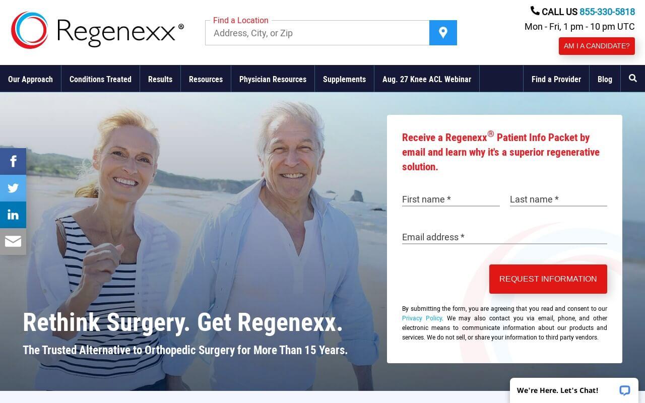 Regenexx on ReadSomeReviews