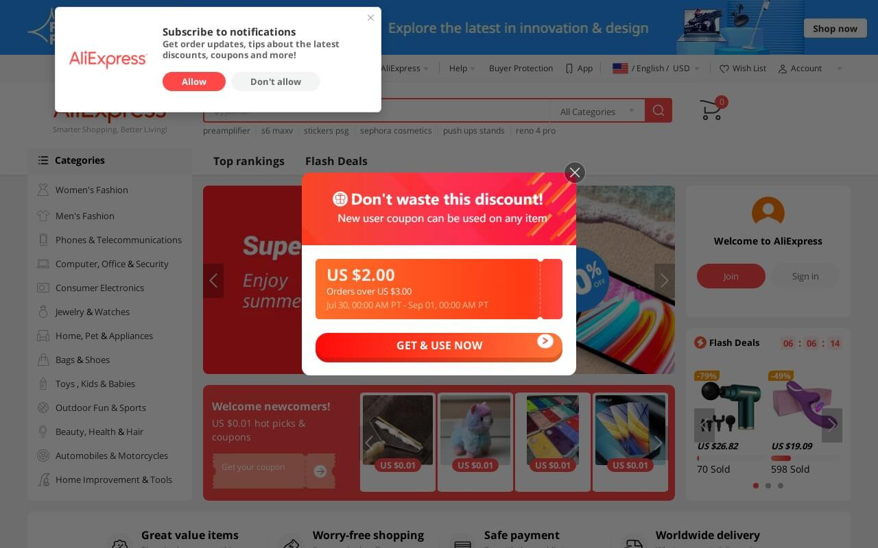 Aliexpress on ReadSomeReviews
