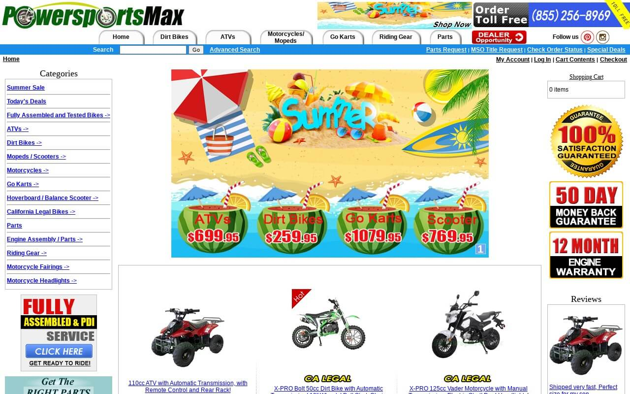 PowersportsMax on ReadSomeReviews