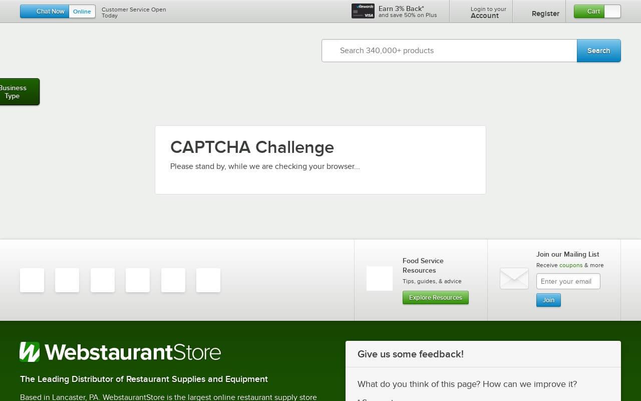 WebstaurantStore on ReadSomeReviews