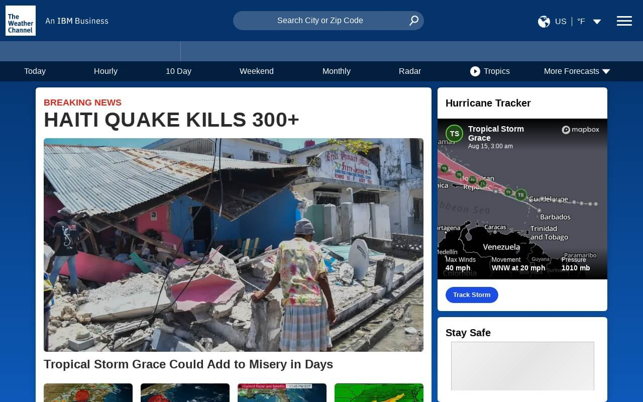The Weather Channel on ReadSomeReviews