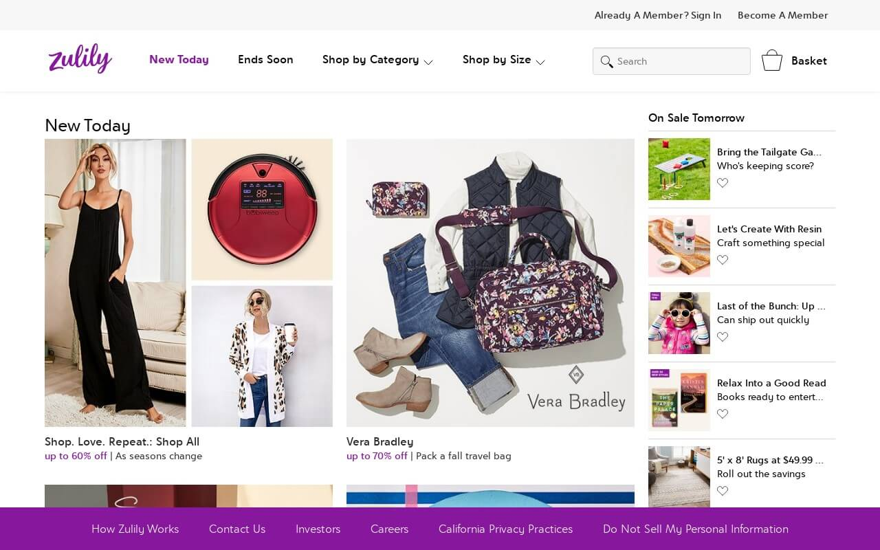 Zulily on ReadSomeReviews