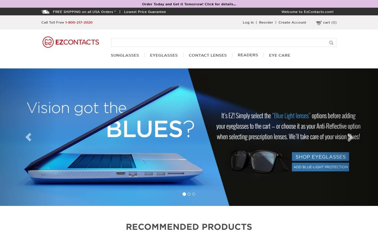 Ezcontacts on ReadSomeReviews